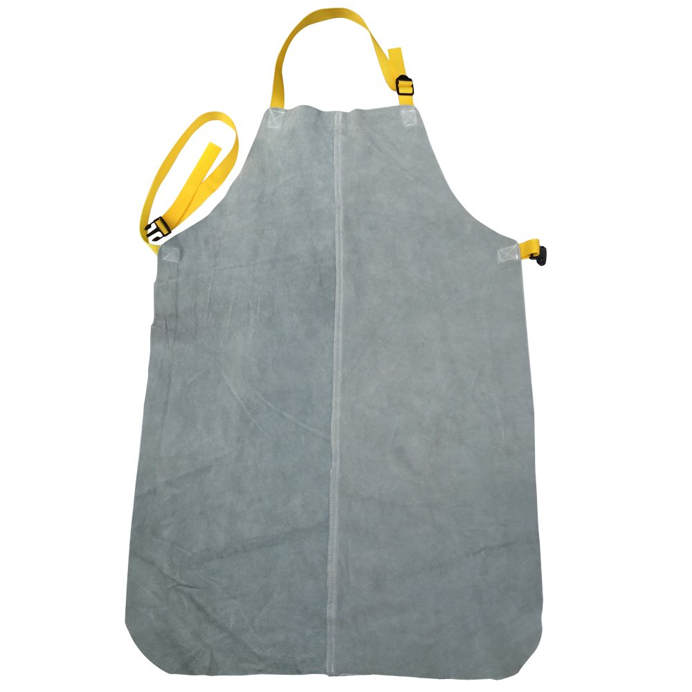Genuine Leather Welding Apron for Welder(Grey)