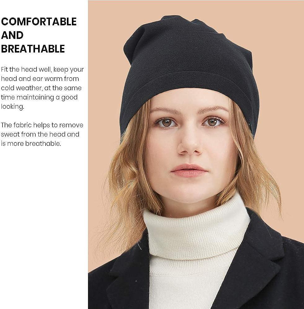 Unisex warme Beanie Feinstrick M/ütze Seide Strickm/ütze Herren f/ür das ganze Jahr LilySilk Damen Verpackung MEHRWEG