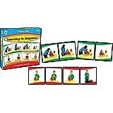 Carson-Dellosa Learning to Sequence 4-Scene Educational Board Game