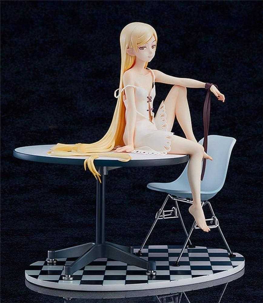 KaiWenLi Kizumonogatari Oshino Shinobu Pajama Dress Up Anime Character Model PVC Material Graphic Statue Collectibles//Crafts//Decorations//Adult Toys//New Year