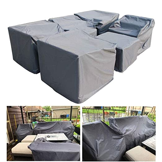 Funda for Mesa Jardin Funda Muebles Exterior Impermeable 420D ...