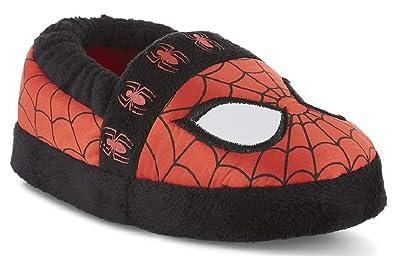 8077eb67271 Marvel Avengers Spider-Man Kids A-Line Slippers (2-3 M US