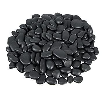 Polar Planters Synthetic River Rock Over 125 Rocks For Plant Topdressing,  Landscaping, Decoration,