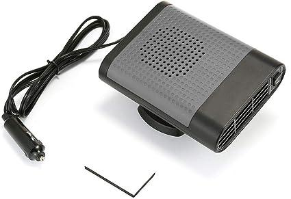 Teepao - Calentador de coche portátil, ventilador electrónico de ...