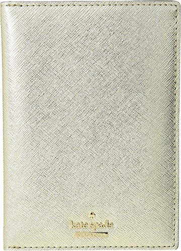 Kate Spade New York Women's Cameron Street Travel Passport Holder Gold One Size by Kate Spade New York