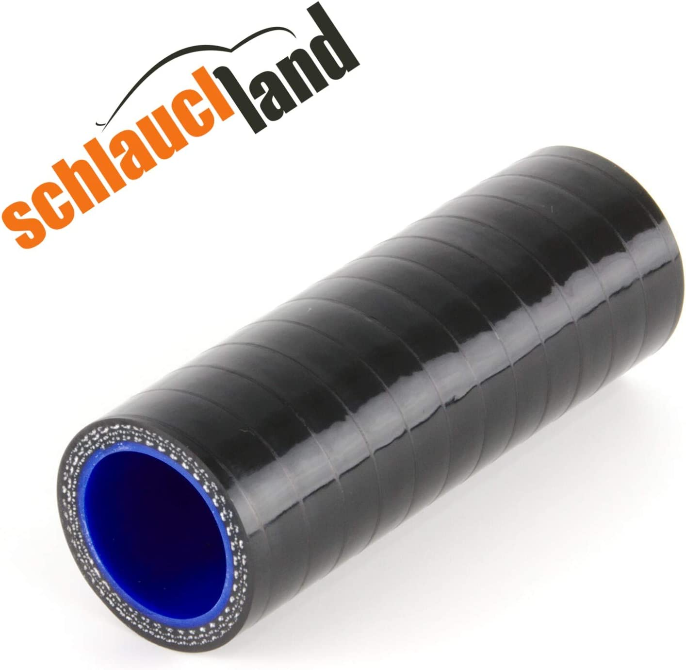 Silikonverbinder Innendurchmesser 41mm Schwarz Silikonschlauch Verbinder Kühlwasserschlauch Auto