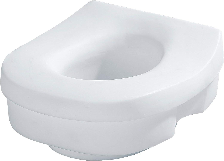 Moen DN7020 Home Care Elevated Toilet Seat, Glacier