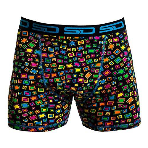 Men's Boxer Briefs - Stash Underwear with Secret Front Stash Pocket
