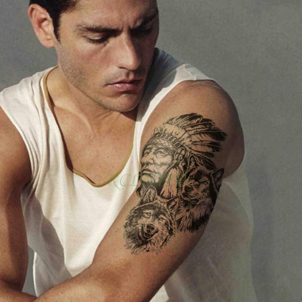 5pcs Impermeable Etiqueta engomada del Tatuaje del ala del ángel ...