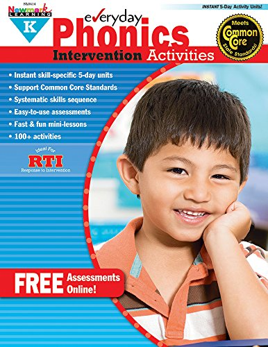 Everyday Intervention Activities for Phonics Grade K