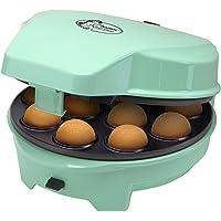 Bestron 3-i-1 kakmaskin i retrodesign, för munkar, muffins och cake pops, Sweet Dreams, non stick-beläggning, 700 W…