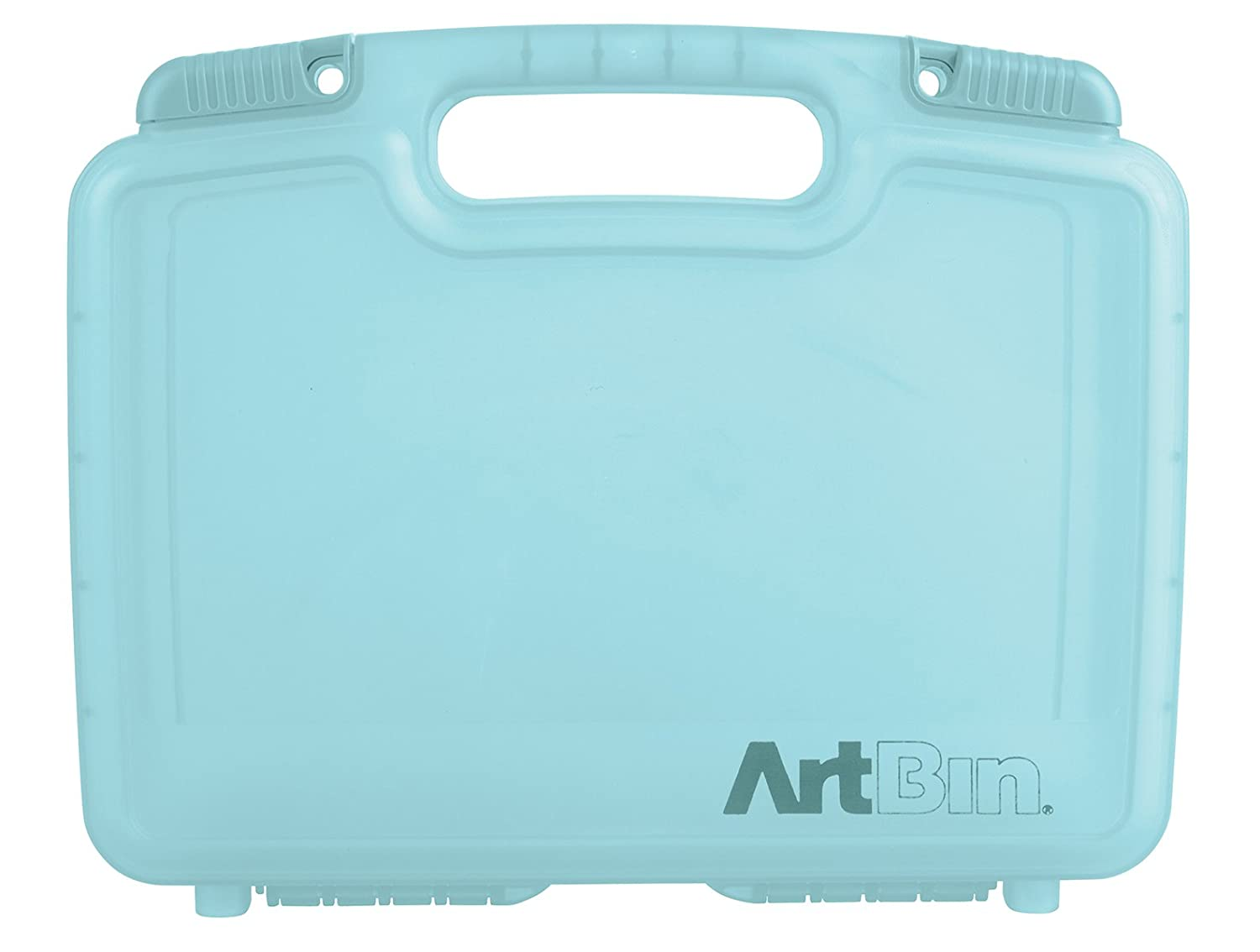 ArtBin 6977AB 12-Inch Quick View Deep Base Carrying Case, Translucent Clear