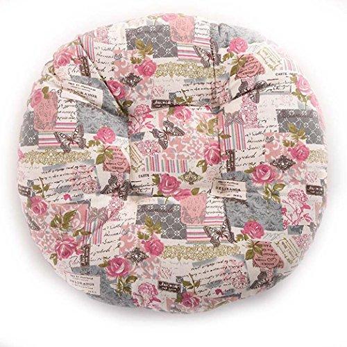 Sothread Soft Creative Round Seat Cushion Garden Patio Home Kitchen Office Chair Pad (D) from Sothread
