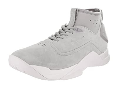 6689ea72ee1 Nike Men s Hyperdunk Low Crft Wolf Grey Wolf Grey White Basketball Shoe 7.5  Men