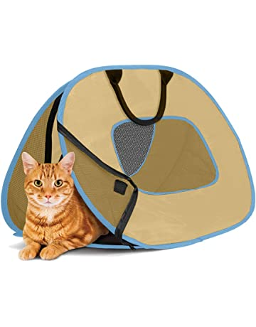 ef332e8cb5 ... Pet Travel Carrier for Dogs and Cats. 285 · SportPet Designs Cat Carrier  With Zipper Lock- Foldable Travel Cat Carrier