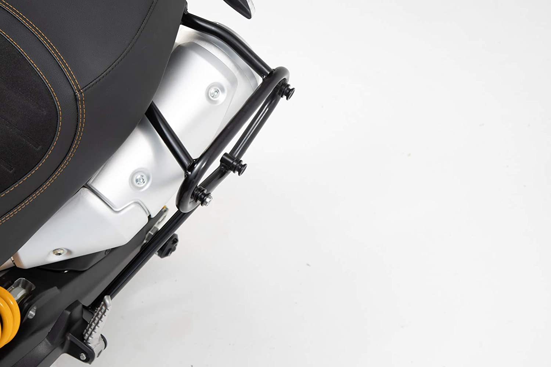 Black for 18-19 Ducati SCRAM1100SP SW-Motech SLC Side Carrier