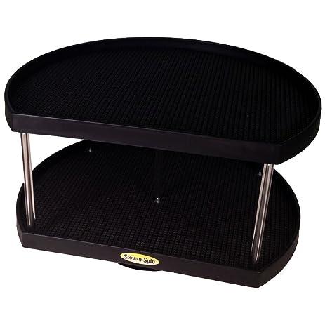 Amazon.com: Stow-n-Spin Kitchen Cabinet Storage Organizer 2-Tier ...