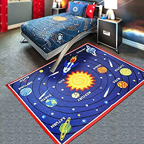 HEBE Kids Area Rugs Solar System 40