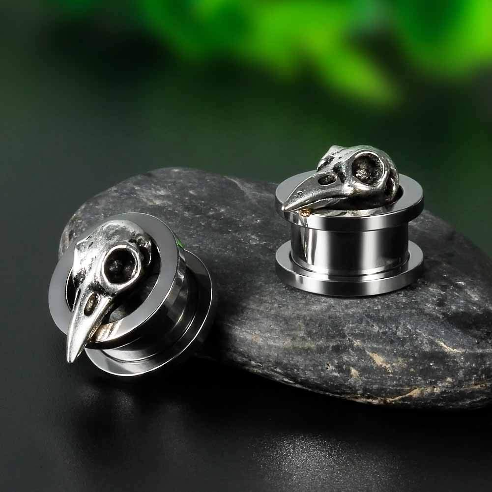 Amazon.com: COOEAR Stainless Steel Ear Gauges, Upgrade ...