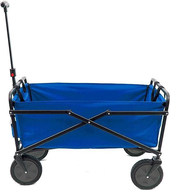 Amazon.com: Seina - Carro plegable de vagoneta para jardín ...