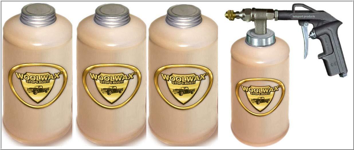 woolwax Lanolin Vehicle undercoating kit (4) Quarts w/PRO Gun
