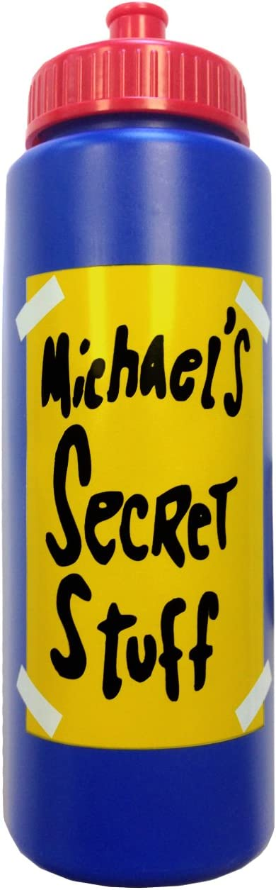 Michael's Secret Stuff Water Bottle