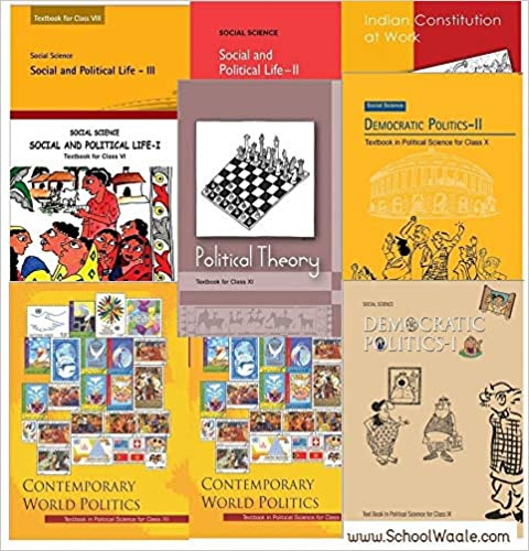 NCERT Class 6-12th Polity/Politics/Political Books PDF Download in English and Hindi Medium