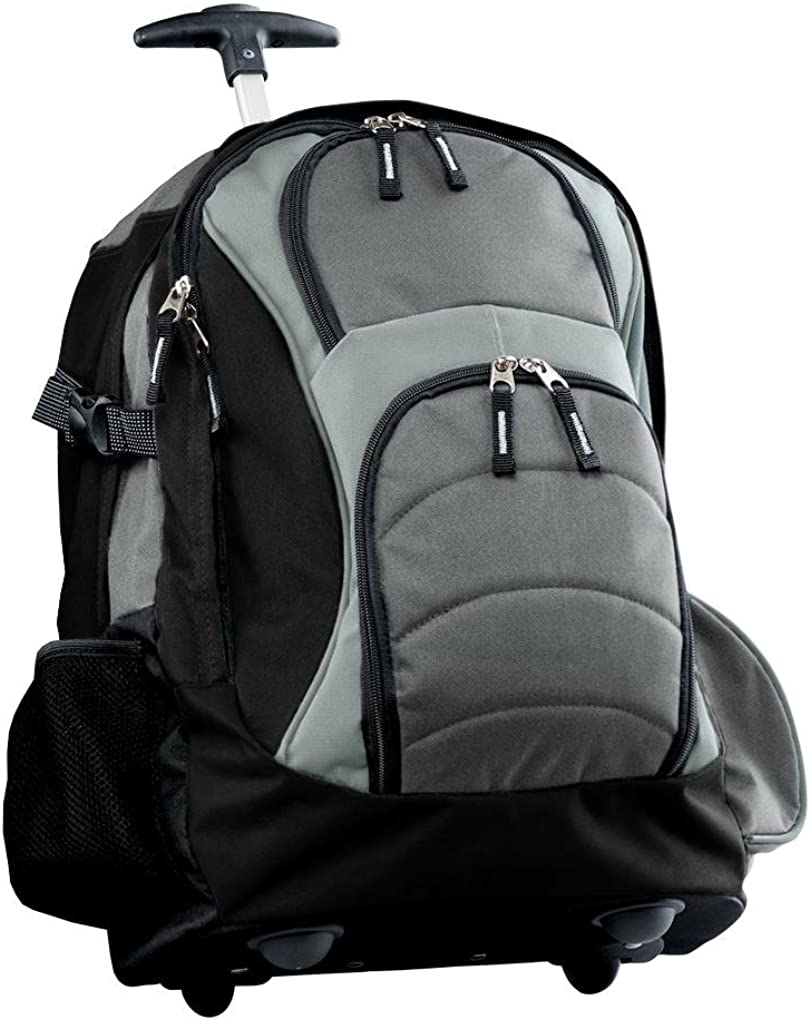 B00MFQRYM4 Port Authority Men's Wheeled Backpack 61pULwYfJxL