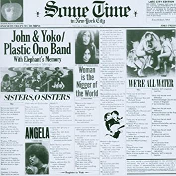 John lennon yoko ono sometime in new york city amazon music sometime in new york city stopboris Choice Image