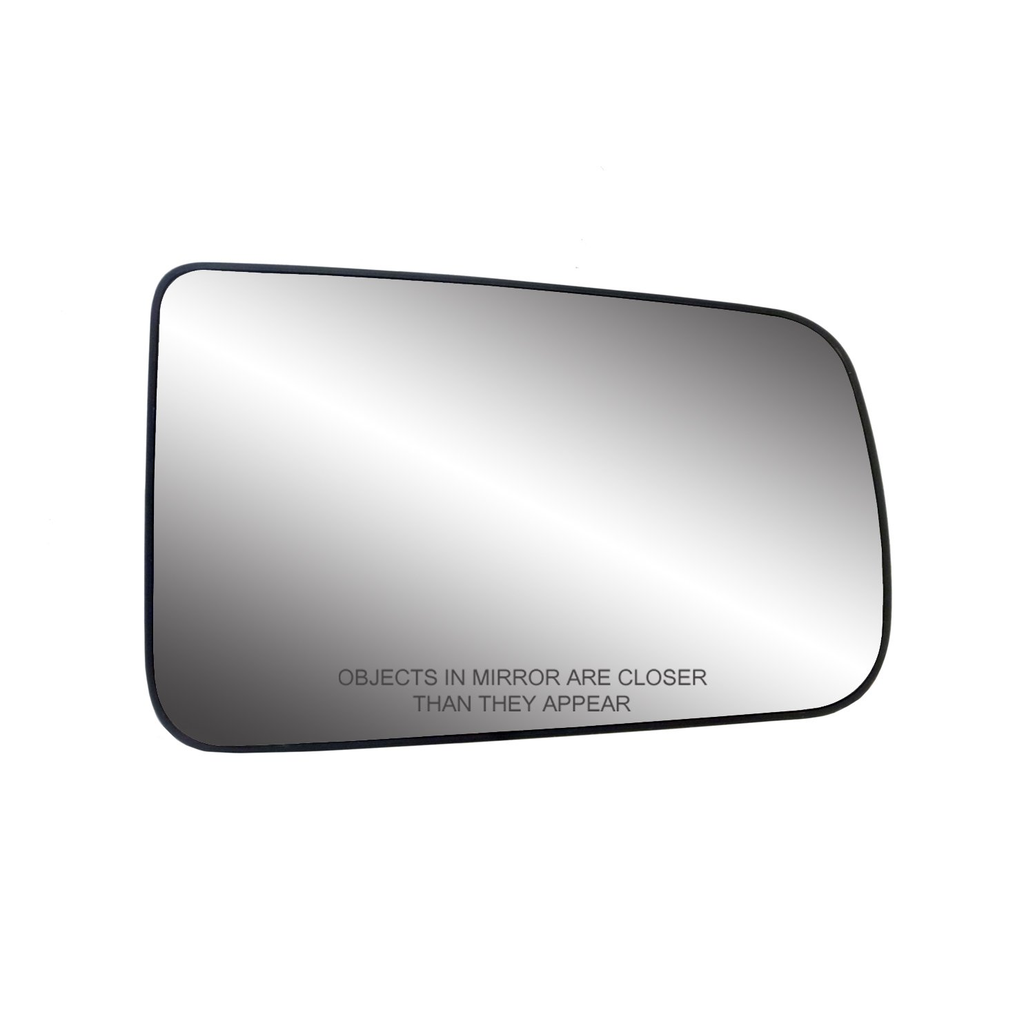 Fit System 33261 Ford Focus Left Side Heated Power Replacement Mirror Glass with Backing Plate