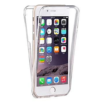 coque iphone 6 360 silicone transparent