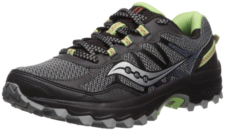 Saucony Women's Excursion TR11 Running Shoe B071JMDPK7 9.5 B(M) US|Black/Lime