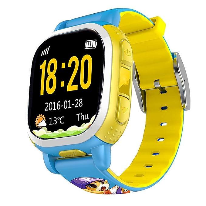 VANKER Tencent QQ reloj teléfono GPS Tracker Localizador SOS ...