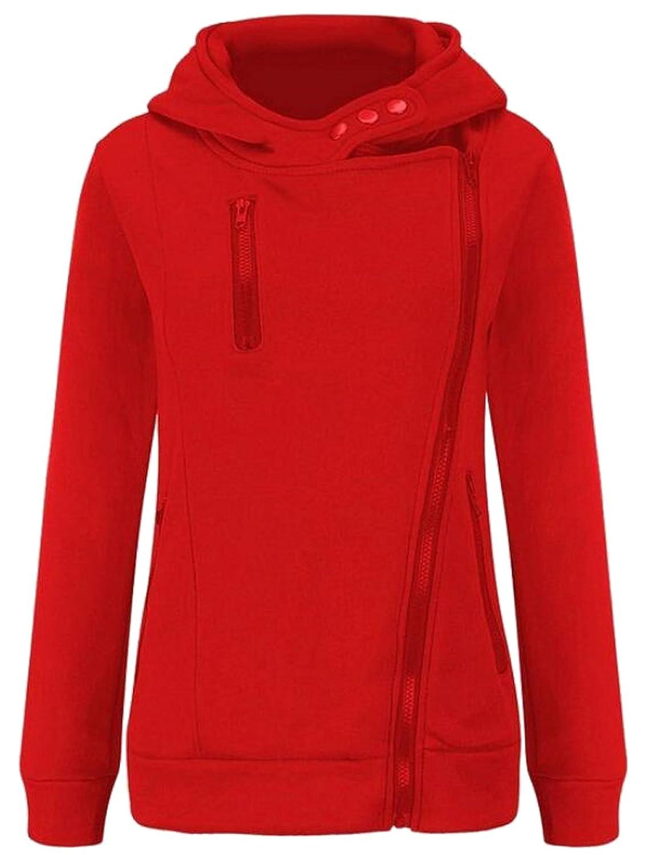 Nanquan-women clothes SWEATER レディース B075W7LJKB  レッド US-XS