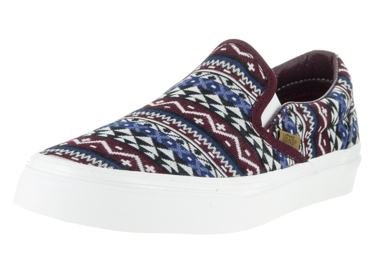 Vans Unisex Classic (Checkerboard) Slip-On Skate Shoe B01NBFANAN 5.5 M US Women / 4 M US Men|Prt Ryle/Bdb