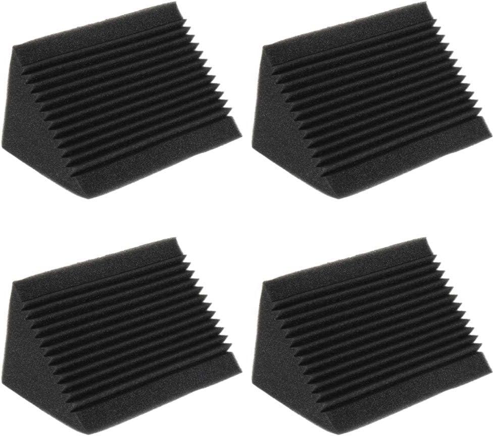 Pack Of 4 Noise Dampening Sponge Panels Acoustic Treatment 12 X 12 X 24cm