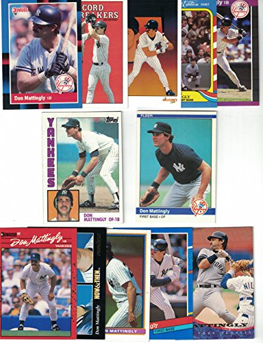 Don Mattingly / 1984 Topps & Fleer Rookie Cards! PLUS 50 ...