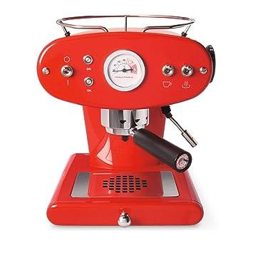 Illy FrancisFrancis! X1 Trio Espressomaschine für ESE System, rot