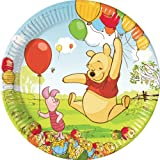 10 assiettes plates Winnie l'Ourson™