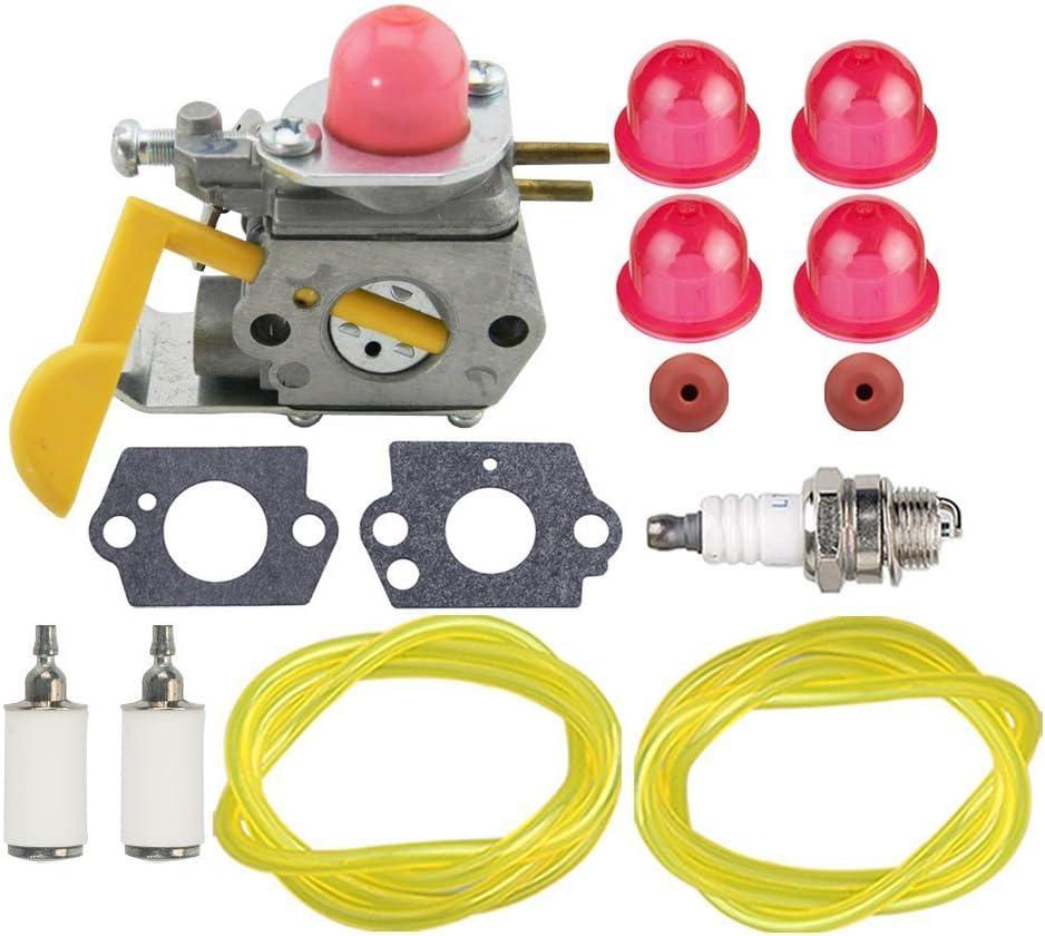 Air fuel filter for Craftsman 358791520 358791370 358791620  Trimmer