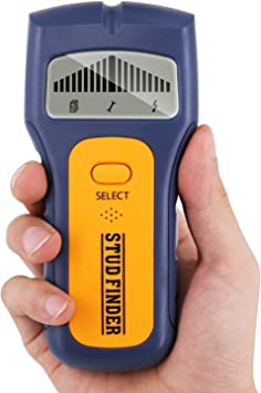 2020 Ortungsgerät Glteck 3 In 1 Multifunktions Wand Scanner Detektor Stud Finder Leitungssucher Für Stromleitung Holz Metall Mit Großer Lcd Hintergrundbeleuchtung Baumarkt