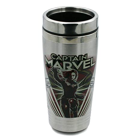 Amazon.com: Marvel Travel Vaso – 16 oz Vaso portátil de ...