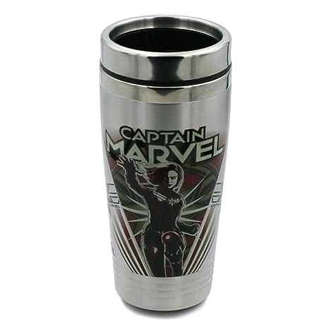 Amazon.com: Marvel Travel Vaso – 16 oz Vaso portátil de ...