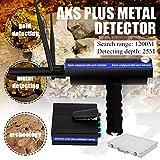 TUQI AKS Handhold Metal/Gold/Diamond Detector 3D 1200m Long Range Scanner Finder Depth