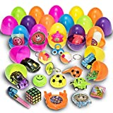 Toys : Prextex Toy Filled Easter Eggs Filled with Mini Toys and Trinkets Each Egg Contains a Different Toy