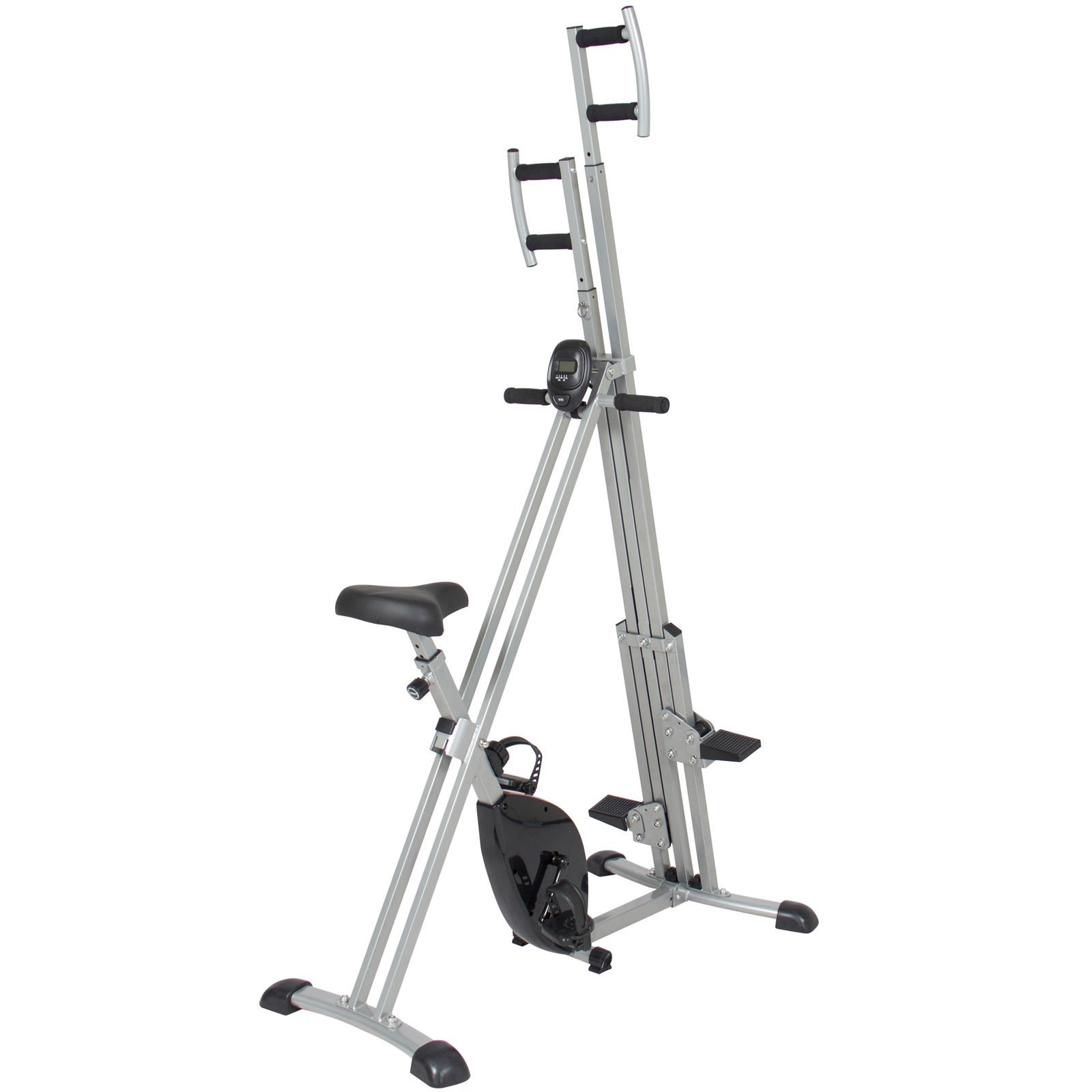 Total Body 2-IN-1 Vertical Climber Magnetic Exercise Bike Fitness Machine by BUY JOY (Image #2)