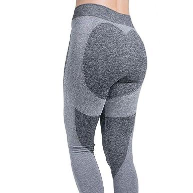 Pantalones Deportivos para Mujer Gris Chándal De Pantalones ...