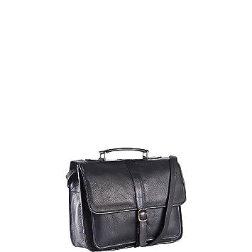 43d4acc18c68 Amazon.com  Clava School Leather Bag - Leather - Vachetta Black - Vachetta  Black  Clothing