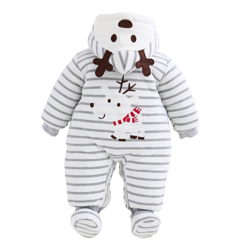 6f88f996379b Amazon.com  Unisex Baby Christmas Rompers Newborn Snowsuit Jumpsuit ...