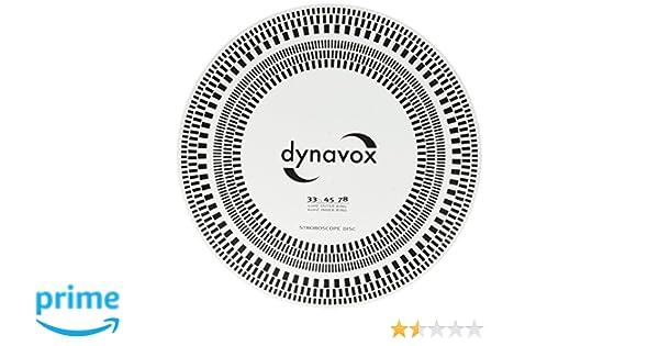 DynaVox - Disco estroboscópico calibrador de fonocaptor: Amazon.es ...